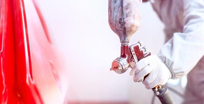 Pompa jako urządzenie dla potrzeb lakiernictwa