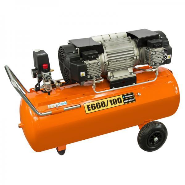 Gentilin E660/100 90 litrów kompresor bezolejowy