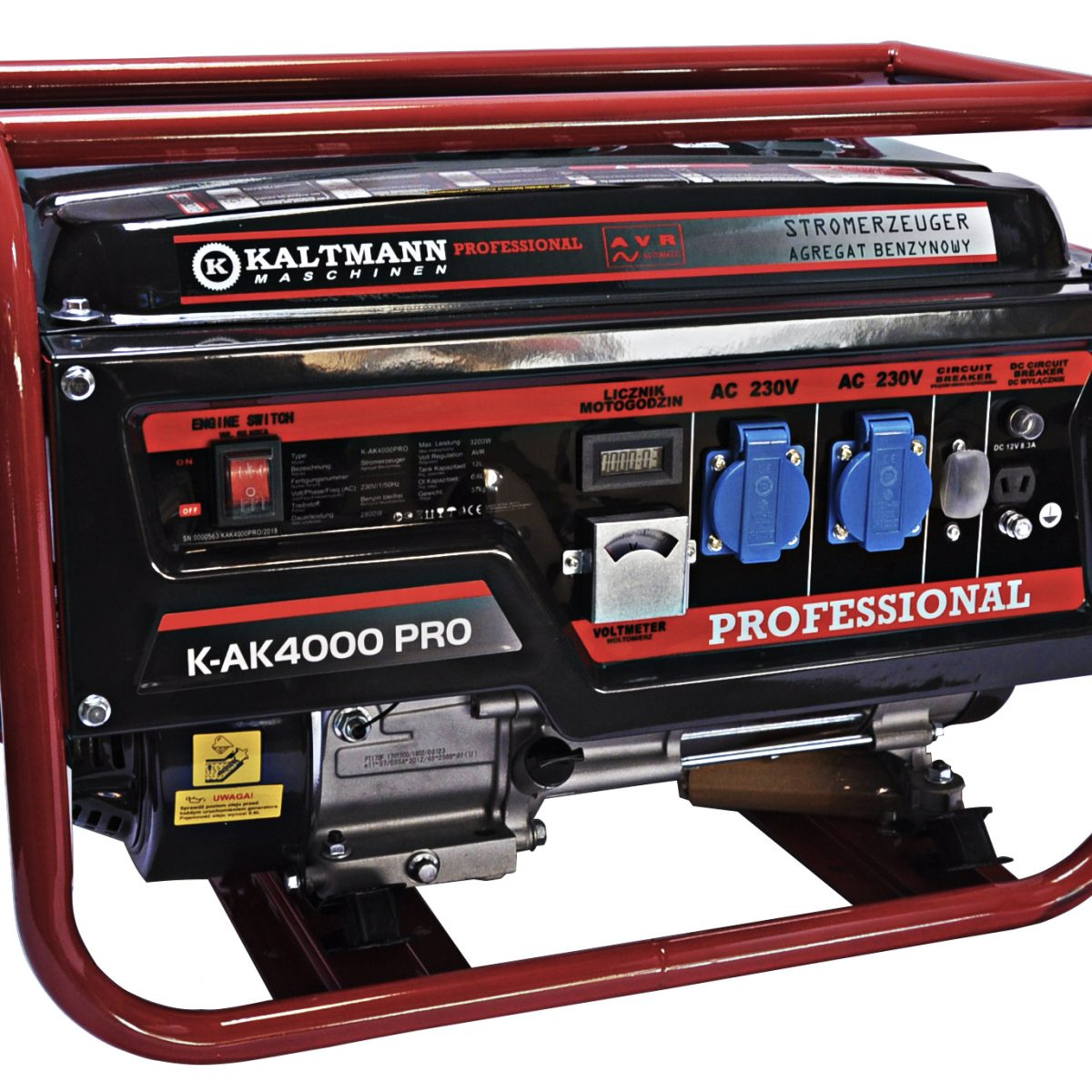Kaltmann Agregat prądotwórczy K-AK 4000PRO